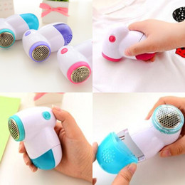 Wholesale knit sweaters resale online - New Lint Remover Electric Lint Fabric Remover Pellets Sweater Clothes Shaver Machine to Remove Pellet lint removers G2