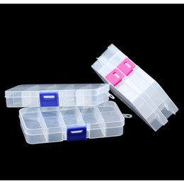 bead organizer container Australia - Wlyees Empty Box Transparent 10 Grids Plastic Storage Box Adjustable Clear Storage Box Container Organizer Jewelry Beads Boxes bbySrj