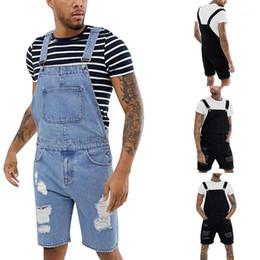 Monos Jeans Pantalones Cortos Hombres Oferta Online Dhgate Com