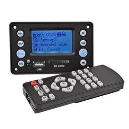 & MP4 Players High Quality DC 5V 4.0 Bluetooth MP3 Decoder Board Audio Module USB SD WAV WMA FM Remote on Sale