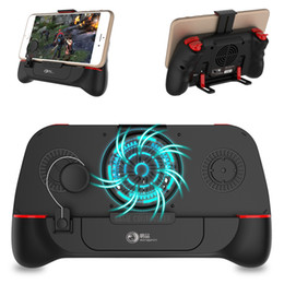 android phone game controllers 2021 - G2 Bluetooth PUBG Controller Gamepad L1R1 Trigger With Cooling Fan Game Joystick Grip Holder For IOS Iphone Android Mobi