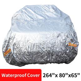 """Опт Универсальный открытый анти-царапинок защитный водонепроницаемый солнцезащитный солнечный дождевой жаропрочный термостойкость Все охрана погоды 264 """"х 80"""" х 65 """""""