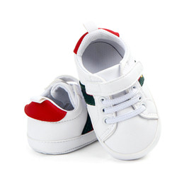 Wholesale Baby Boy Shoes Infant Toddler Soft Sole Prewalker Sneakers Baby Girl Crib Shoes 0-18Months