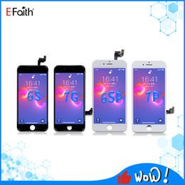 Efaith Högkvalitativ LCD-skärmdisplay för iPhone 6 6s 7 8 Plus X XS XR XS Max 11 Touch Digitizer Screen Assembly Ersättning