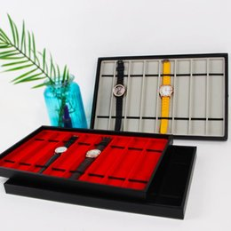 watch trays NZ - Necklace Watch Band Display Stand Storage Case Shop Jewelry Tray Accs 8-Grid