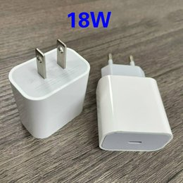 18W PD Fast Charger with USB-C Quick Charging Type C Home Power Adapter for Apple IPhone 11 Pro Max with Retail Box