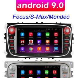 Radio de automóvil Multimedia Video Player para FORD / FOCUS / S-MAX / MONDEO 9 / GALAXYC-MAX Navigation GPS Android 9.0 No DVD 2DIN 2 DIN