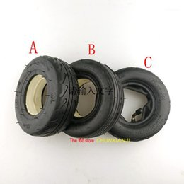 """Wholesale Size 6 inch 6X2"""" Tire and Inner Tube Set 6x2 solid tyre Fit for fastwheel F0 Electric Scooter Wheel Chair Truck Trolley Cart1"""