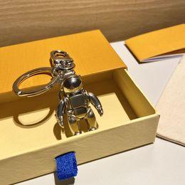 Key Fibbia collane portachiavi auto portachiavi a mano portachiavi uomo donna collana di moda borsa ciondolo accessori in Offerta