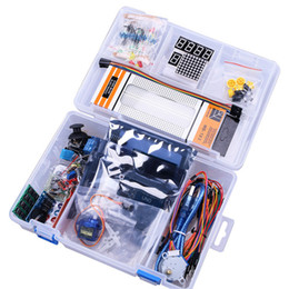 Wholesale 10 Set NEWEST RFID Starter Kit for Arduino UNO R3 Upgraded Version Learning Suite With Storage Box