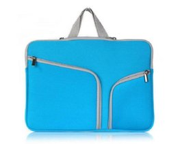 """Soft Zipper Liner Sleeve Hand Bag Case Cover for Apple Macbook Air Pro 11"""" 12""""13""""15"""" on Sale"""