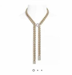 Mode Euro ausgeschnitten Anhängerkette Halskette für Herren und Frauen Liebhaber Geschenk Hip Hop Schmuck mit Box im Angebot