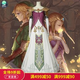 Starry Selda Legend game twilight princess with Cosplay clothing