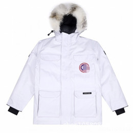 MCSR RNF9Y E7CRA EVA Freedom2019 Parka Collar Fur Winter New Peles Mulheres Down Cook Expedition Jacket Produção Parker Collar Colar para Down Jack