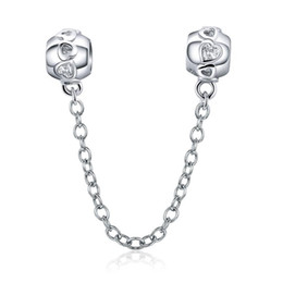 Wholesale save animals online – design Save Money Sale Bisaer Animal Beads Silver Color Copper Little Cat Bear Beads Heart Wave Charms Fit Bracelets Diy Jewelry wmtaDu