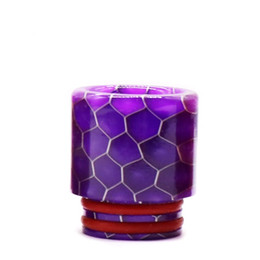 Wholesale baby snakes resale online - Drip tip Snake Skin Shape long Epoxy Resin TFV8 Drip Tip fit TFV8 Big Baby TFV12 Prince Atomizers Smoking Accessories K2