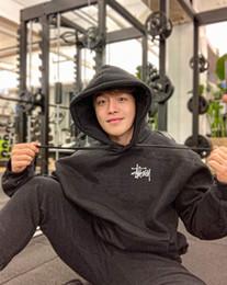 Wholesale stussy hoodie online – oversize Fashion Stussy Sportswear Men s Warm Plush Hoodie Loose Top