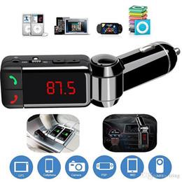 Auto Bluetooth 5.0 FM Sender Kit MP3 Modulator Player Wireless Freisprecheinrichtung Audioempfänger Dual USB Schnellladegerät 3.1A im Angebot