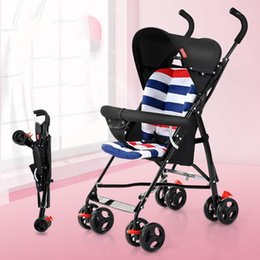 portable umbrella strollers UK - Free ship light portable umbrella suspension folding Lightweight umbrella Stroller Only Sit baby stroller1