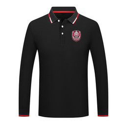 cfr cluj Unisex Premium Golf Series POLO Lapel Long Sleeve Collar Street Shirt Trendy Pure Color Premium Shirt Comfortable POLO