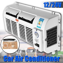 Wholesale 12V 24V Car Air Conditioner universal Air Cooler Cooling Fan Humidifier Purifies For Car Caravan Truck Easy Installation1