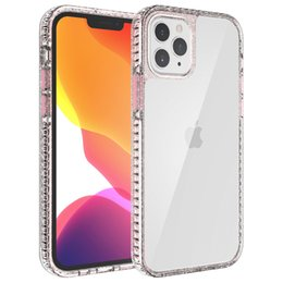 Wholesale hard case xiaomi resale online - For Samsung Galaxy A51 A71 A91 A21S A02S A12 A32 A42 A52 A72 G Xiaomi T Pro Transparent TPU Hard Acrylic Thin Protective Phone Case