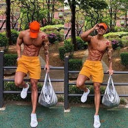 jogging suit black 2020 - Summer Running Shorts Men Casual Solid Sweatpants Multifunctional Breathable Jogging Pants Loose Fashion Track Shorts Be