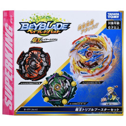 beyblade toys sale Canada - Pre-sale New TAKARA TOMY Beyblade Super King B171 three-in-one transformation set Metal Fusion Battle Gyro Children Toys Boy Q1122