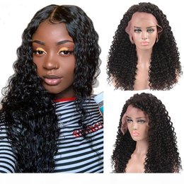 black n95 mask NZ - laurinda Deep Wave Short Bob Wigs For Black Women Brazilian Bob Lace Wigs Pre Plucked Deep Human Hair Wig and send you a free n95 mask
