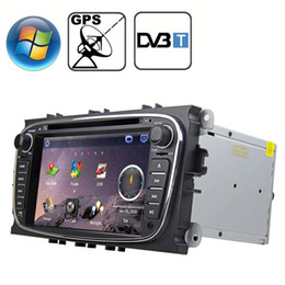 gps inch for car 2021 - Rungrace 70 inch Windows CE 60 TFT Screen In-Dash Car DVD Player for Ford Mondeo with Bluetooth GPS RDS DVB-T