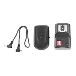 Wholesale Hot Shoe Flash Lamp 16 Channels Wireless Remote Flash Trigger Synchronizer Receiver Transmitter For DSLR Camera1