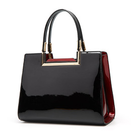 large red patent handbag 2021 - HBP women handbags patent leather large capacity big bag woman fashion tote bags 2021 new style vegan armpit purse bag
