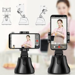 Wholesale tracking cell phones resale online - 2020 hot sell face tracking auto at cell holders selfie stand smart shooting camera phone holder