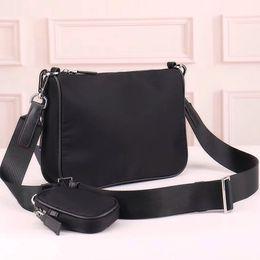 Wholesale Canvas cross Body bag men twin set purse fashion messenger bag classic satchel waterproof canvas shoulder bag parachute fabric men on Sale