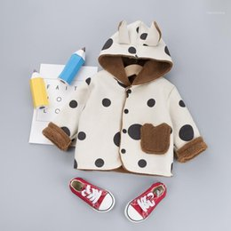 polka dot trench Canada - The NewBaby Kids Windbreaker Jacket Spring Autumn Boys Girls Jacket Coat Polka Dot Wear Children Trench Coat Outerwear Clothes1
