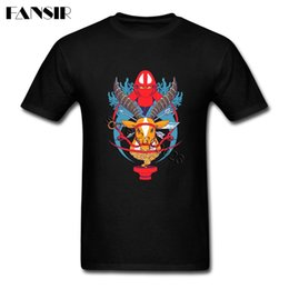 Wholesale white t shirt hood online – design The Red Hood Archer Princess Mononoke Vintage Man White Custom Plus Size For Family Designers T Shirt Men Graphic Hoodie