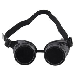 welding goggle sunglasses Australia - Factory outletII50Glasses Welding Steampunk Punk Vintage Retro Cyber Goggles Gothic Sunglasses Fashion ps0141