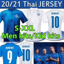 Wholesale g g shirts resale online - 2020 Iceland National Team Soccer Jerseys G SIGURDSSON Sigthórsson E GUDJOHNSEN Men Adult kids kits Football Shirts Uniforms XL