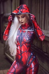 Zentai korsett cos parallel universum gwen bodysuit venom weibliche spinne movie cosplay kostüm