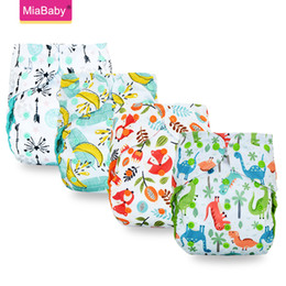 Discount fitted cloth diapers Miababy ECO-friendly Big XL cloth diaper cover for Baby 2 Years and Older, sday-dry inner,adjustable size, fits waist 36