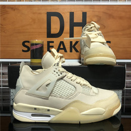 Wholesale pink tours resale online - New arrival white x sail kaws mens jumpman s high basketball shoes rasta travis scotts purple se neon tour yellow outdoor womens Sneakers