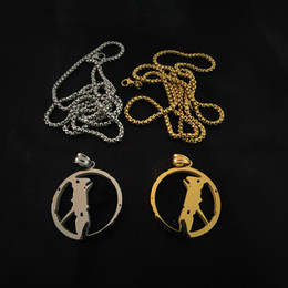 Necklace Mens Womens Pendant Punk Streets Chain Accessories Fashion Rap Singer Hip Hop Jewelry Clothing Accessories on Sale