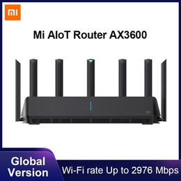 Ingrosso Xiaomi Mi Aiiot Router AX3600 WiFi 6 Dual-Band 2976 MBS Gigabit Vota WPA3 Security Encryption Mesh WiFi Amplificatore del segnale esterno