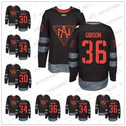 Wholesale america s cup for sale – custom Custom Men womens olympic North America Matt Murray Auston Matthews John Gibson Black World Cup Stitched Hockey Jersey