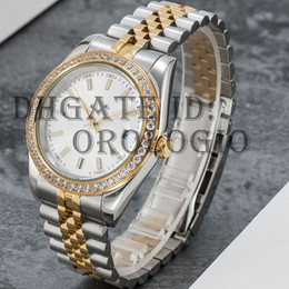 Montre de Luxe Mens Automatic Mechanical Orologi meccanici 41mm Full Acciaio Inox Sapphire Super Luminoso 5ATM Impermeabile U1 Factory Wristwatch da polso in Offerta