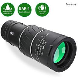 Yeni Dürbün Gece Görüş Ile Yüksek Monoküler Teleskop Plastik Dürbün Açık Spor Kamp Seyahat LJ201120