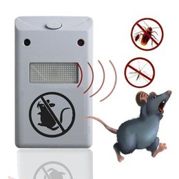 anti mouse pest Australia - Electronic Pest Repeller Pest Repelling Aid ultrasonic Electromagnetic Anti Mosquito Mouse Insect Cockroach Control Free DHL