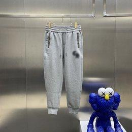 Европейские размеры мужские и женские повседневные спортивные брюки азиатские большой размер высококачественные дикие дышащие плюс бархатные толстые случайные штаны29 на Распродаже