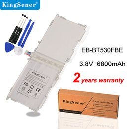Venta al por mayor de Kingser EB-BT530FBE EB-BT530FBC Batería para Samsung Galaxy Tab 4 10.1 T530 T531 T535 SM-T535 T533 SM-T537 T530NU EB-BT530FBU