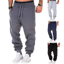 Wholesale black sweat pants resale online – Mens Sweat Pants Fashion Sweatpants Tracksuit Joggers Men Casual Fashion Style Bottoms Trousers with Colors